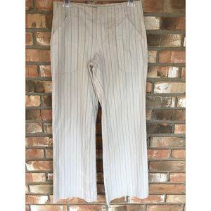 Banana Republic Women's Striped Pants     Size 2